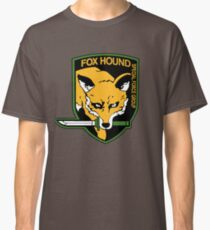 Metal Gear Solid FOXHOUND Classic T-Shirt