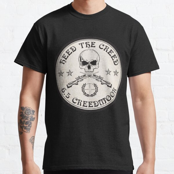 Heed The Creed On Black Classic T-Shirt