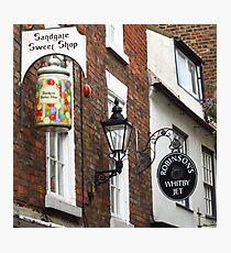 Sandgate, Whitby, Yorkshire Photographic Print