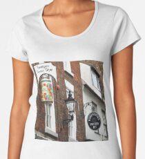 Sandgate, Whitby, Yorkshire Women's Premium T-Shirt