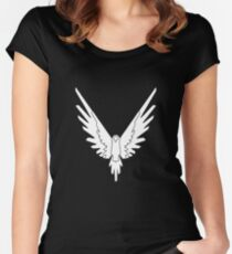 Maverick Logan Paul Merchandise Women's Fitted Scoop T-Shirt