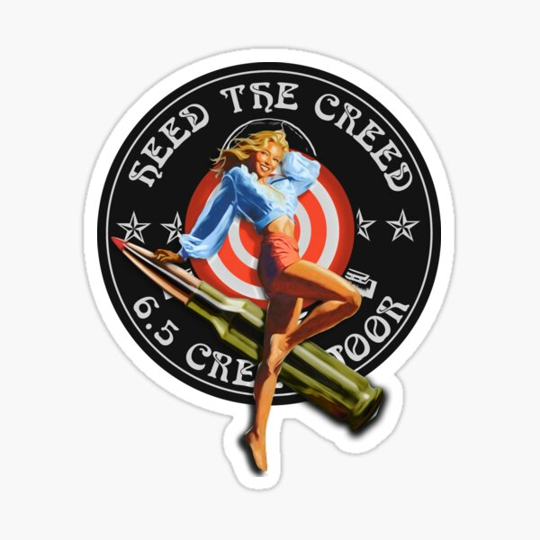 Creedmoor Girl Heed Sticker