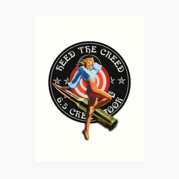 Creedmoor Girl Heed Art Print