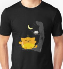 Halloween - Cat and Owl Mochi Friends  T-Shirt