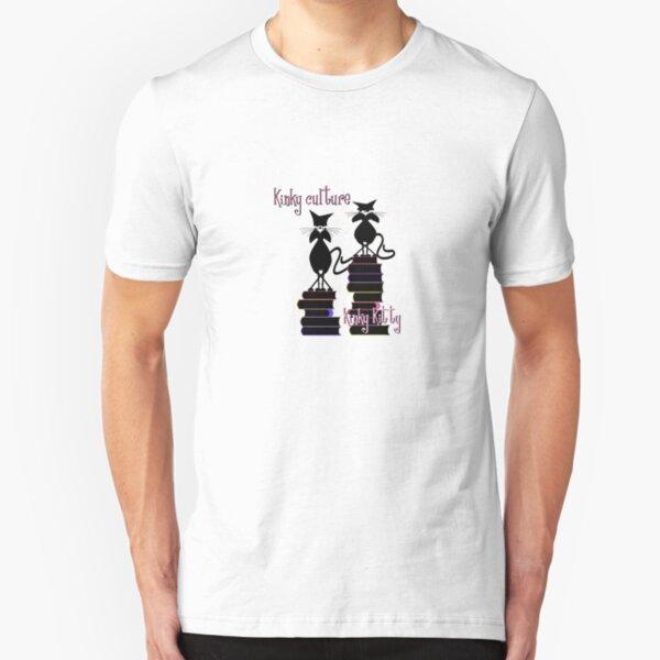 KINKY KITTY - Kinky Culture Slim Fit T-Shirt