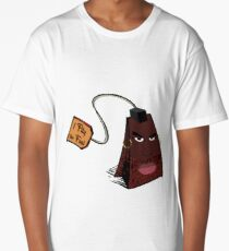 Mr Teabag (Mr T Bag) Long T-Shirt