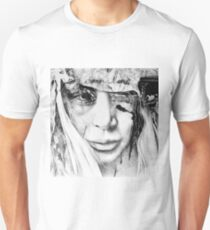 A Glance Of Hope, 2017, 50-50cm, graphite crayon on paper T-Shirt