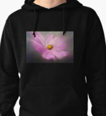 Soft focus Macro of a purple garden flower Pullover Hoodie