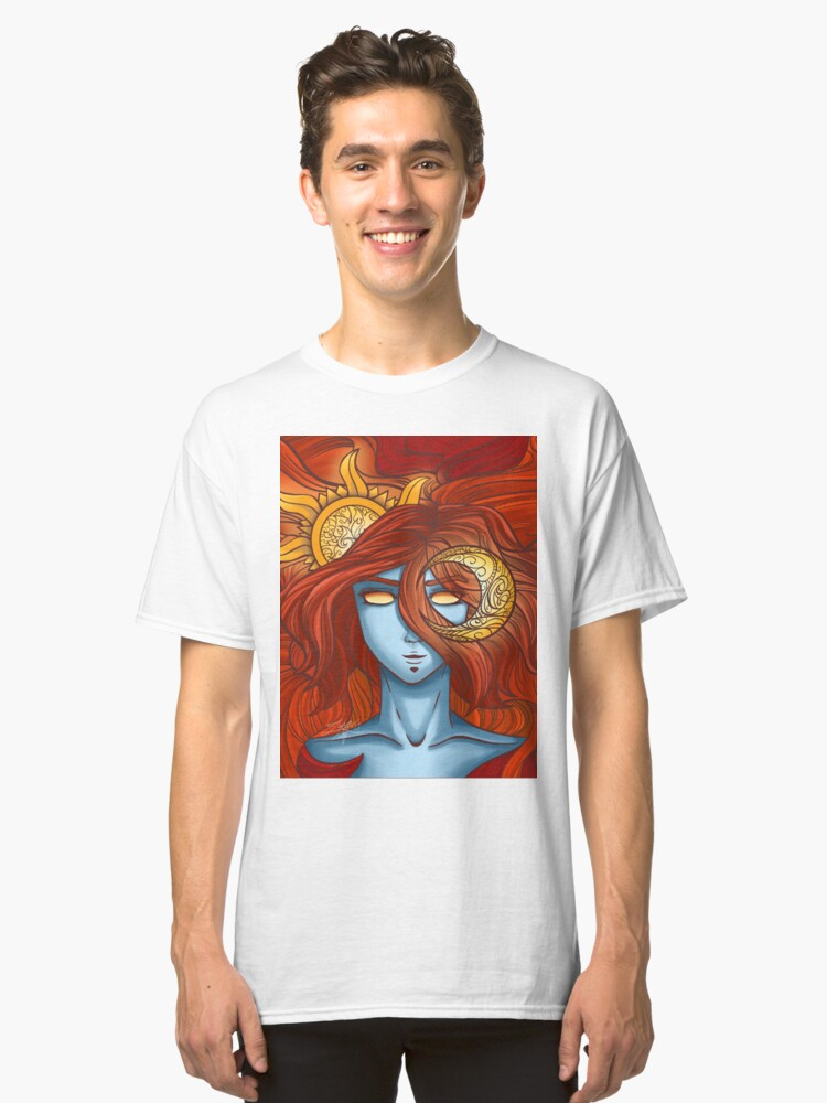The Sun and The Moon Classic T-Shirt Front