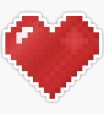 8-bit luv Sticker