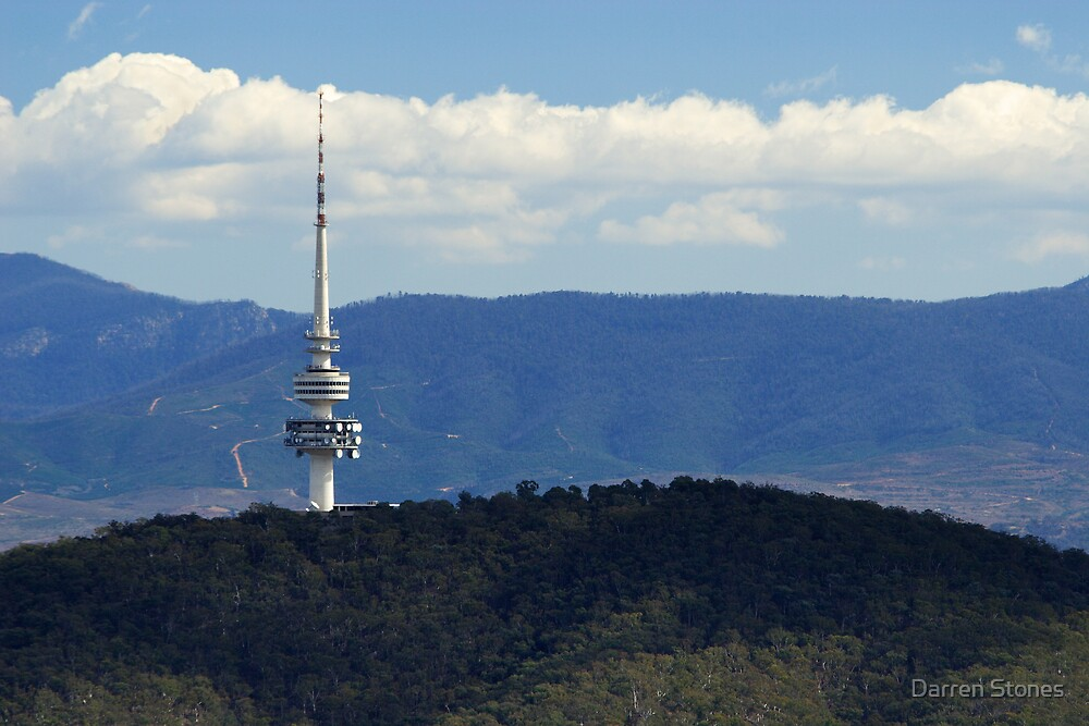 Black Mountain Tower Canberra by Darren Stones