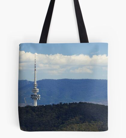 Black Mountain Tower Canberra Tote Bag