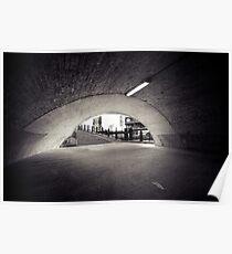 passenger tunnel arc bw Poster