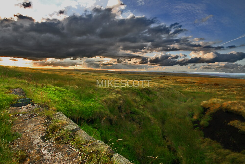 SADDLEWORTH MOOR by MIKESCOTT