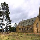 The Wesleyan Chapel at Ross, Tasmania by Christine Smith