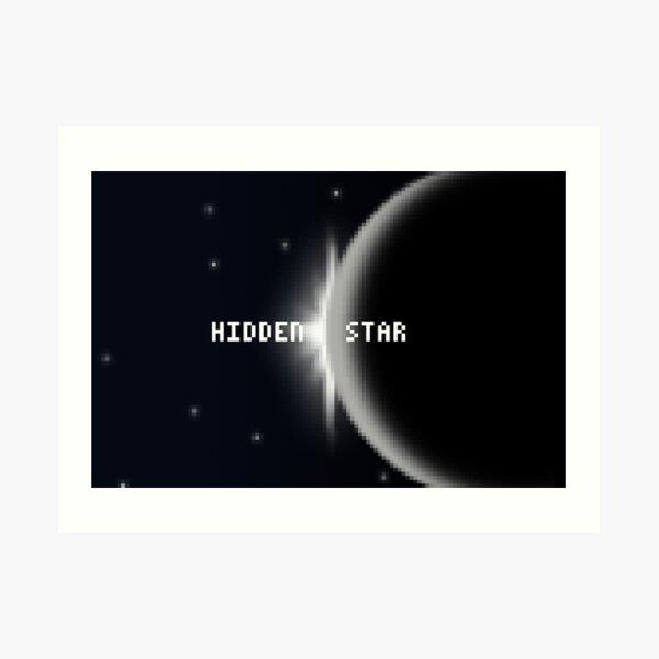 Hidden Star Art Print