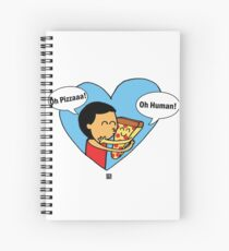 Oh Pizza Spiral Notebook