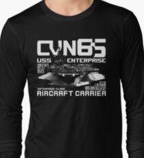 USS Enterprise CVN-65 Long Sleeve T-Shirt