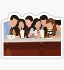 Friends minimalism Sticker