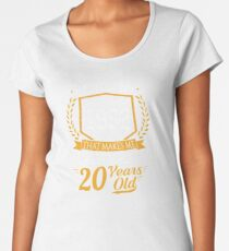Funny 35th Birthday Born In 1982 Retro Vintage Gift Women's Premium T-Shirt