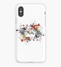 Splatter Split Screen  iPhone Case/Skin