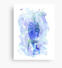mycroft holmes - watercolor splatter Canvas Print