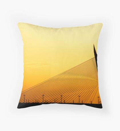 Silhouette Line Throw Pillow