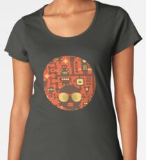 Robots red Women's Premium T-Shirt