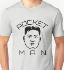 Kim Jong Un Rocket Man Tshirt, Funny North Korea Tee T-Shirt