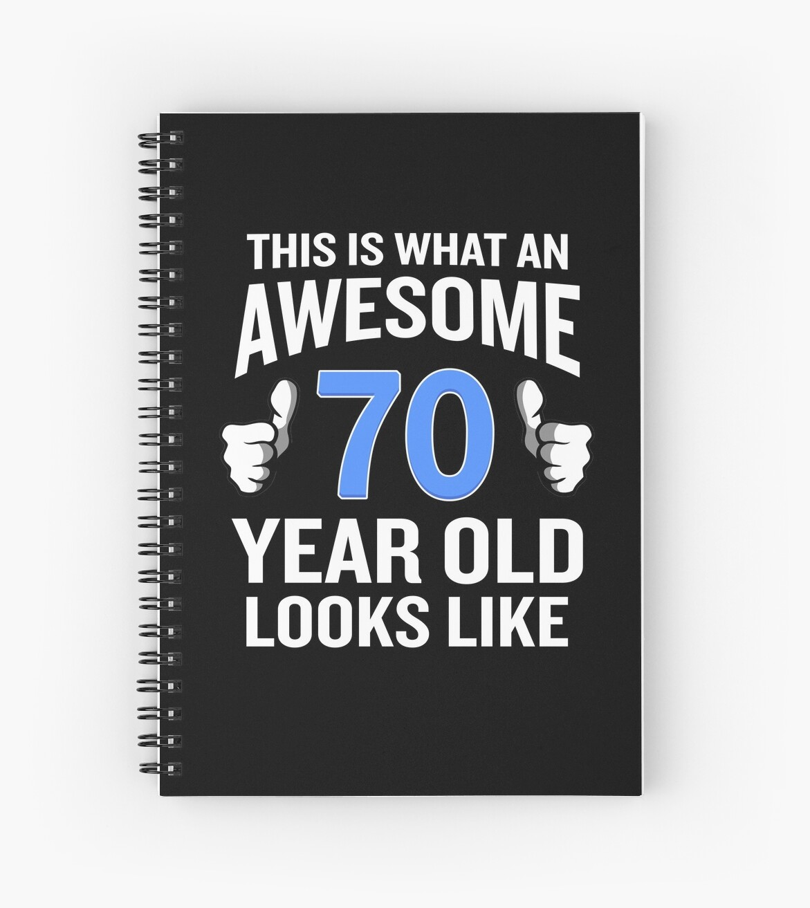 70 Year Old Birthday Funny Senior Man Or Woman Gift