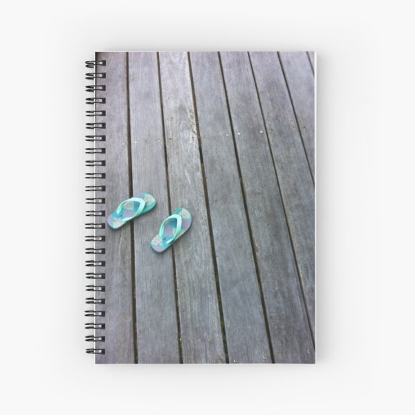Holiday thongs Spiral Notebook