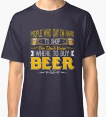 All I Want For A Gift Is Beer Classic T-Shirt