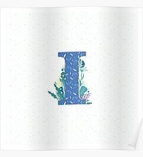 Alphabet | Letter I  Poster