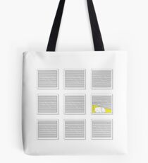 Doodle kitty in the window Tote Bag