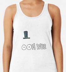 Mr Poopybutthole Rick and Morty Racerback Tank Top