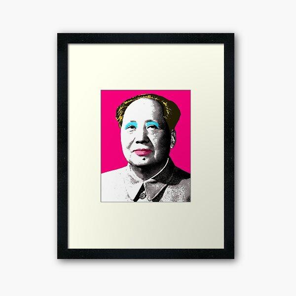 Marilyn Mao - Pink Framed Art Print
