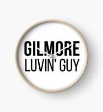 Gilmore Lovin' Guy Clock