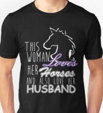 THIS WOMEN LOVES HER HORSES T-Shirt