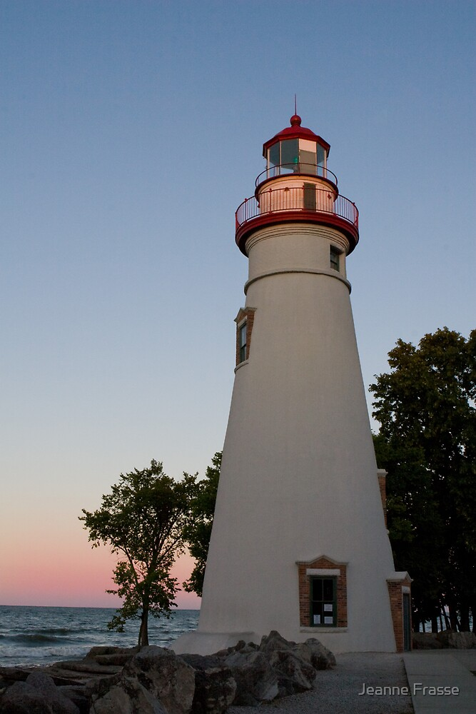 Marblehead Lighthouse by Jeanne Frasse