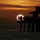 Fishing Till the Sun Goes Down... by Jake Freeedman