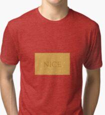NICE Biscuits Tri-blend T-Shirt