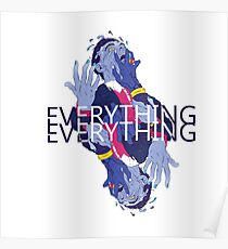 Everything Everything - EE // Get to Heaven Design Poster