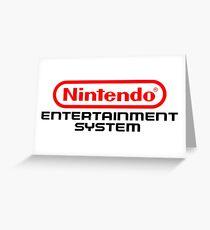 NES  Greeting Card