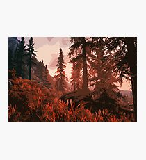 Autumn on Earth Photographic Print
