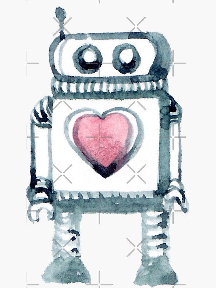 Lovely Little Robot by whya
