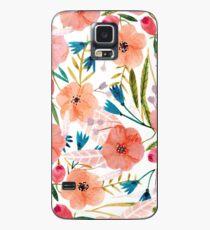 Blumentanz Hülle & Klebefolie für Samsung Galaxy