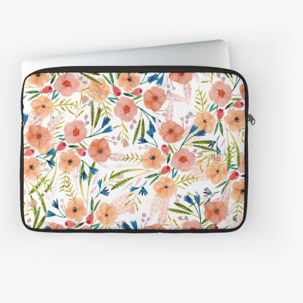 Floral Dance Laptop Sleeve