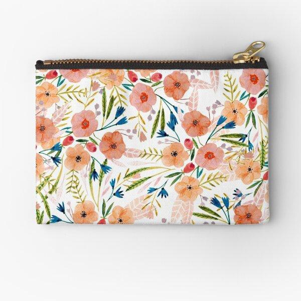 Floral Dance Zipper Pouch