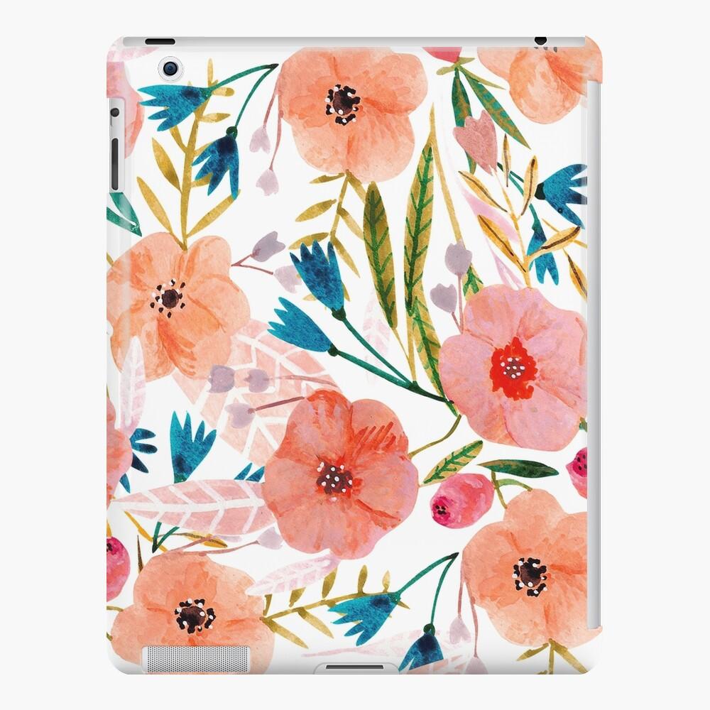 Danza floral Funda y vinilo para iPad