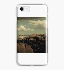 William Stanley Haseltine (American, ). After a Shower -- Nahant, Massachusetts, ca. . iPhone Case/Skin